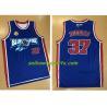 China OEM Sublimation v neck blue basketball jersey basketball vest wholesale