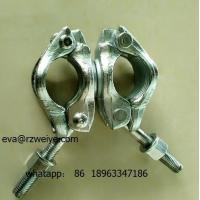 China Double forged 90 degree heavy duty scaffolding coupler SGS certificated wholesale