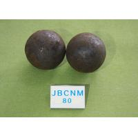 China High Hardness Unbreakable Forged Grinding Steel Ball for Mines / Chemical Industry wholesale