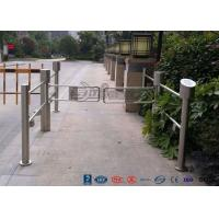 Quality High Speed Swing Barrier Gate Double Core Biometric Stainless Steel for Fitness Center for sale