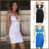 China High Quality Sexy New Fashion Design Celebrity Wholesale Sleeveless Elastic Bandage Summer Dress wholesale