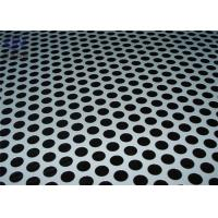 China Low Carbon Steel Perforated Metal Plate , Perforated Steel Sheet Smooth Surface wholesale