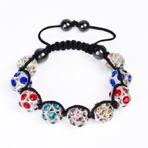 China Hot Selling Crystal Shamballa Bangle Bracelets CJ-B-155 wholesale