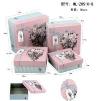 China Lovely Craft Jewelry Packaging Paper Box , Decorative Cardboard Gift Boxes With Lids wholesale