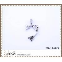 China Hot sell 316 Stainless Steel Heart Pendant H-L1170 wholesale