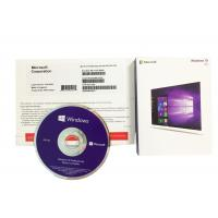 Quality PC Computer Software Authentic Microsoft Windows 10 Product Key Operating System Retail Box for sale