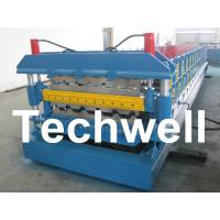 China Automatic PLC Control Dual Level Roll Forming Machine With Manual / Automatic Decoiler wholesale