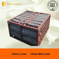 Buy cheap Mining Industry Metal Casting Process Wedge Bars Ball Mill Liners Hardness HRC35-41 from wholesalers