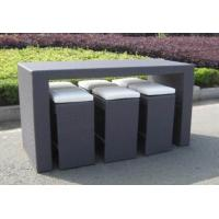 Quality Outdoor rattan wine bar set-16083 for sale