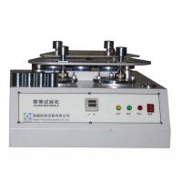 China 4 Station Martindale Abrasion Testing Machine For Fabric / Textile / Rubber And Leather wholesale