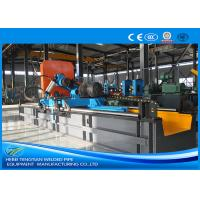 China Carbon Steel Pipe Precision Cut Off Machine Blue Color With 2.5mm Pipe Thickness wholesale