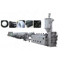 China PLC Control PE PP Plastic Pipe Extrusion Line , Single Screw Extruder Machine wholesale