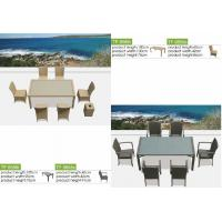China Home furniture rattan dinning table-9569 wholesale