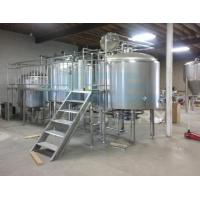 China Industrial equipment fruit wine fermentation tank for sale Variable Capacity wine Fermenters tank wholesale