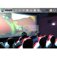 China Red Luxury Seat 7d Cinema Equipment 7D Simulator System Metal Flat Screen wholesale