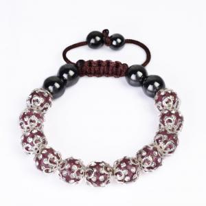 China Fashion Shamballa Crystal Bangle Bracelets CJ-B-154 wholesale