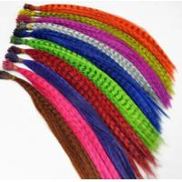 China 12color Natural Feathers Hair Extension Feather Extensions,Feather Hair Extension for beautiful girls on sale