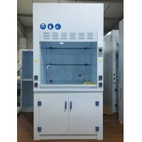 China Biology Lab Equipment Ductless PP Fume Hood For One Person , Corrosion Resistance wholesale