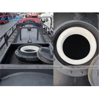 China 12Ton 12000L Chemcial Liquid Tank FAW Ammonia Water Delivery Truck wholesale