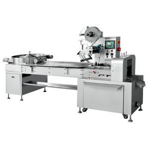 China PLC 1000pcs/Min Chocolate Candy Pillow Wrapping Machine wholesale