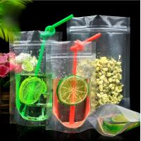 China HOT!!! High quality Clear Plastic Food Packaging Stand Up Pouch zip lock stand up pouches on sale