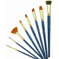 China Customized Logo 4 Inch Artist Painting Brushes Liner Brushes For Oil Painting wholesale
