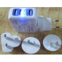 China Four-USB Port Wall Charger wholesale