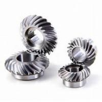 Quality 80mm Diameter Spiral Bevel Gear , Small Bevel Gears For Automations Smooth Operation for sale