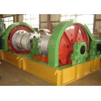 China Wire Rope Industrial Electric Winch , Electric Marine Winch Large Load Capacity wholesale