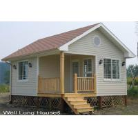China Unlimited Size, Heat / Cold-Insulated Prefab Bungalow Homes With Flat Packed WLH-BGL009 wholesale