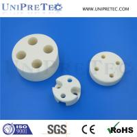 China High Precision Machining Insulating Alumina Al2O3 Ceramic Spacer on sale