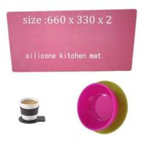 China kitchen living silicone mat ,cheap silicone cooking mat wholesale