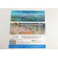 China OEM PP / PET 3D Lenticular Business Cards , 3D Printing Business Cards wholesale