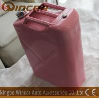 Buy cheap Pink Costomized Color Metal Petrol Jerry Cans product