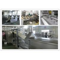 China Fried / Non - Fried Instant Noodle Making Machine 3 Tons - 14 Tons / 8 Hour wholesale
