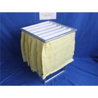 Quality Aluminum frame non-woven faric pocket filter for air Ventilation for sale