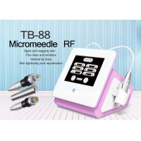 China Fractional RF Microneedle Beauty Machine for Face Body Contouring / Termage Wrinkle Removal on sale