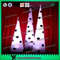 China Lighting Spot Inflatable Cone For Stage Decoration Performance Decoration wholesale