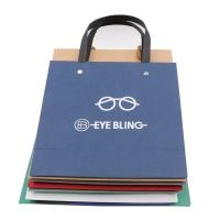 China Multiple Color Custom Printed Paper Bags Matt / Glossy Lamination Surface Handling wholesale