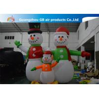 China Giant Inflatable Snowman Blow up Christmas Santa Claus Yard Decoratoin wholesale