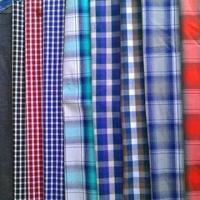 China Cotton Yarn-dyed Fabric, Checked and Striped Types are Available, Available in 57/58 Inches Width wholesale