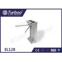 China Commercial Access Control Waist High Turnstile Semi - Auto Waterproof Stable wholesale