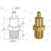 China Gold Raw Brass Ceiling Cable Hanging System M 10 Thread Cable Bottom Exit wholesale