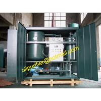 China Emulsified Turbine Oil Filtration Machine,Oil Recycling Purifier, Oil Recondition Plant wholesale