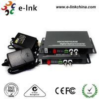 China 2CH BNC Connector HDMI Over Fiber Optic Extender Half Duplex SM / MM wholesale