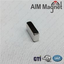 China 10x2.5x2mm block rare earth magnet wholesale