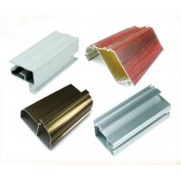 China Surface Treatment T Slot Extruded Aluminum Profiles For Windows And Doors wholesale