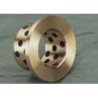 China Hydraulic Cylinder Cast Bronze Bearings / Casting Solid Lubricant Bearings wholesale