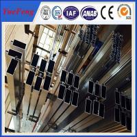 China ISO 9001 industrial aluminium profile for glass curtain wall price per kg wholesale