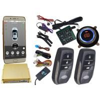 China Reatime Online Smartphone Car Alarm System , Cell Phone Remote Start Gps Vehicle Tracking Systems wholesale